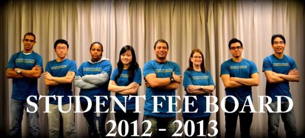Student Fee Board 2012-2013