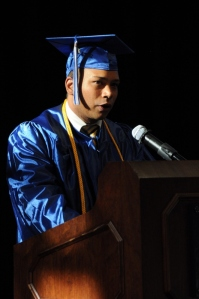 Valedictorian of NSCC 2013